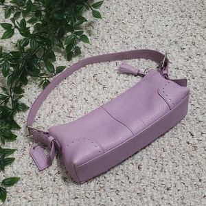 COACH mini purple shoulder bag